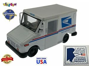 Details About Kinsfun Usps Llv Postal Delivery Mail Van Diecast Truck 1 36