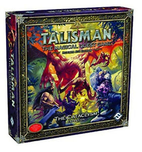 TALISMAN-THE-CATACLYSM-EXPANSION-Revised-4th-Edition-Magical-Quest-Board-Game