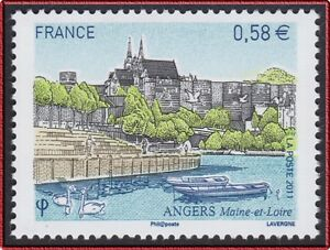 2011-FRANCE-N-4543-ANGERS-CATHEDRALE-SAINT-MAURICE-France-2011-MNH