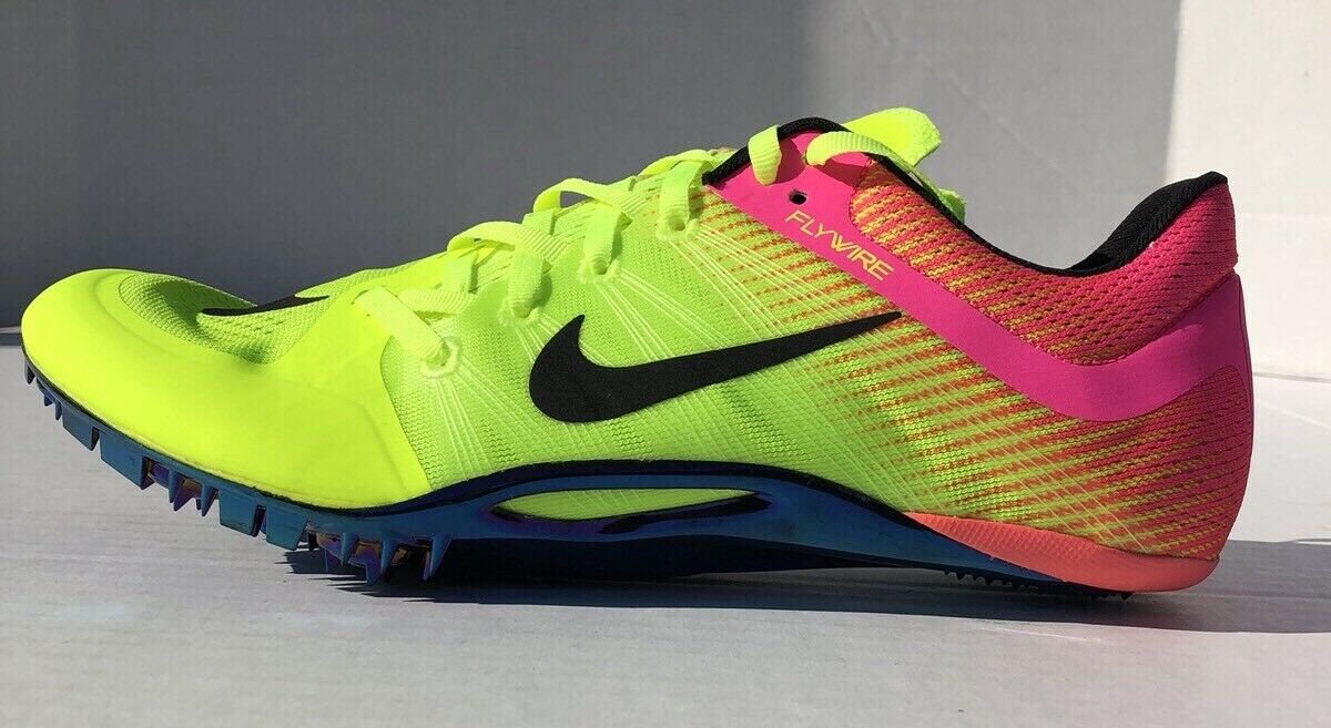 Nike Zoom JA Fly 2 Sprint Track Spikes 705373-999 Volt Pink Olympics Rio Comfortable The latest discount shoes for men and women