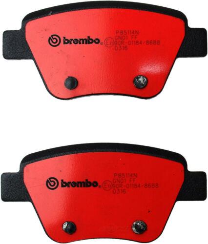 Disc Brake Pad Set-Brembo Rear WD EXPRESS 520 14560 253