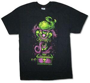 Insane-Clown-Posse-Evil-Riddler-Jack-in-the-Box-Black-T-Shirt-New-Official-ICP