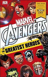 Good-Marvel-Avengers-The-Greatest-Heroes-World-Book-Day-2018-Paperback-Doug
