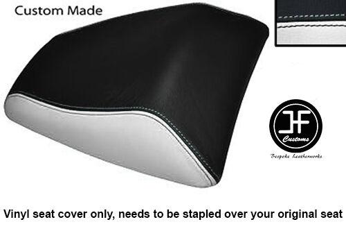 BLACK /& RED VINYL CUSTOM FITS HONDA CBF 125 09-12 REAR PILLION SEAT COVER ONLY