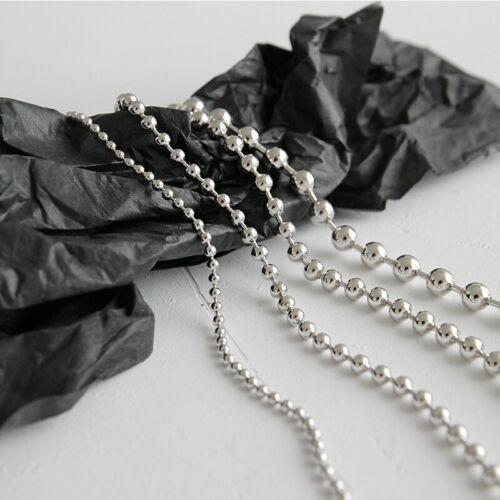 3 cm Armkette Damen Armband Kugeln echt Sterling Silber 925 2-5 mm 15