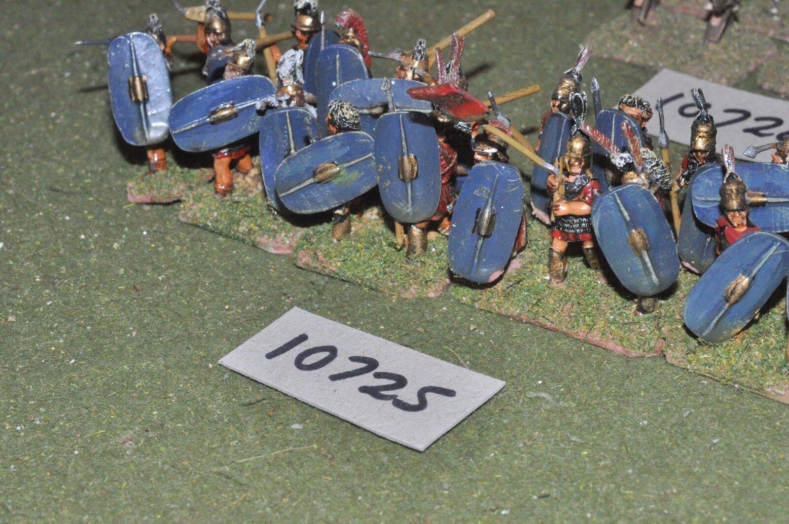 25mm roman era   roman - legionaries 20 figs - inf (10725)
