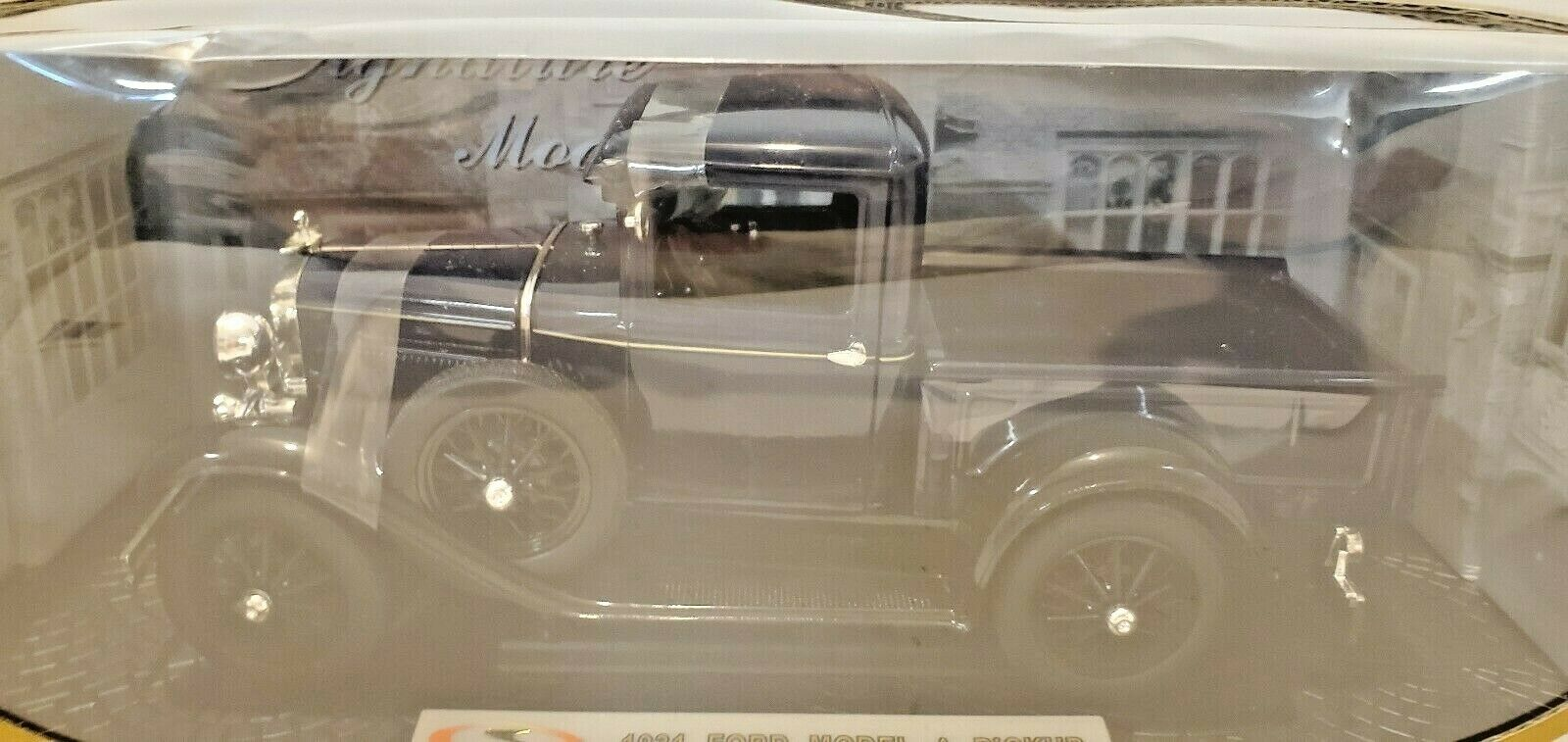 Signature Models nuevo 1931 Ford modelo una camioneta de Coloreee blu oscuro de 1 18 Modelo 18113