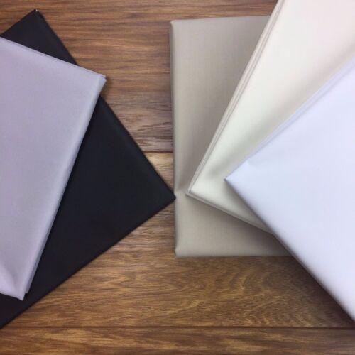 3 Pass-par mètre Blackout Thermique lightproof Rideau Premium doublure tissu