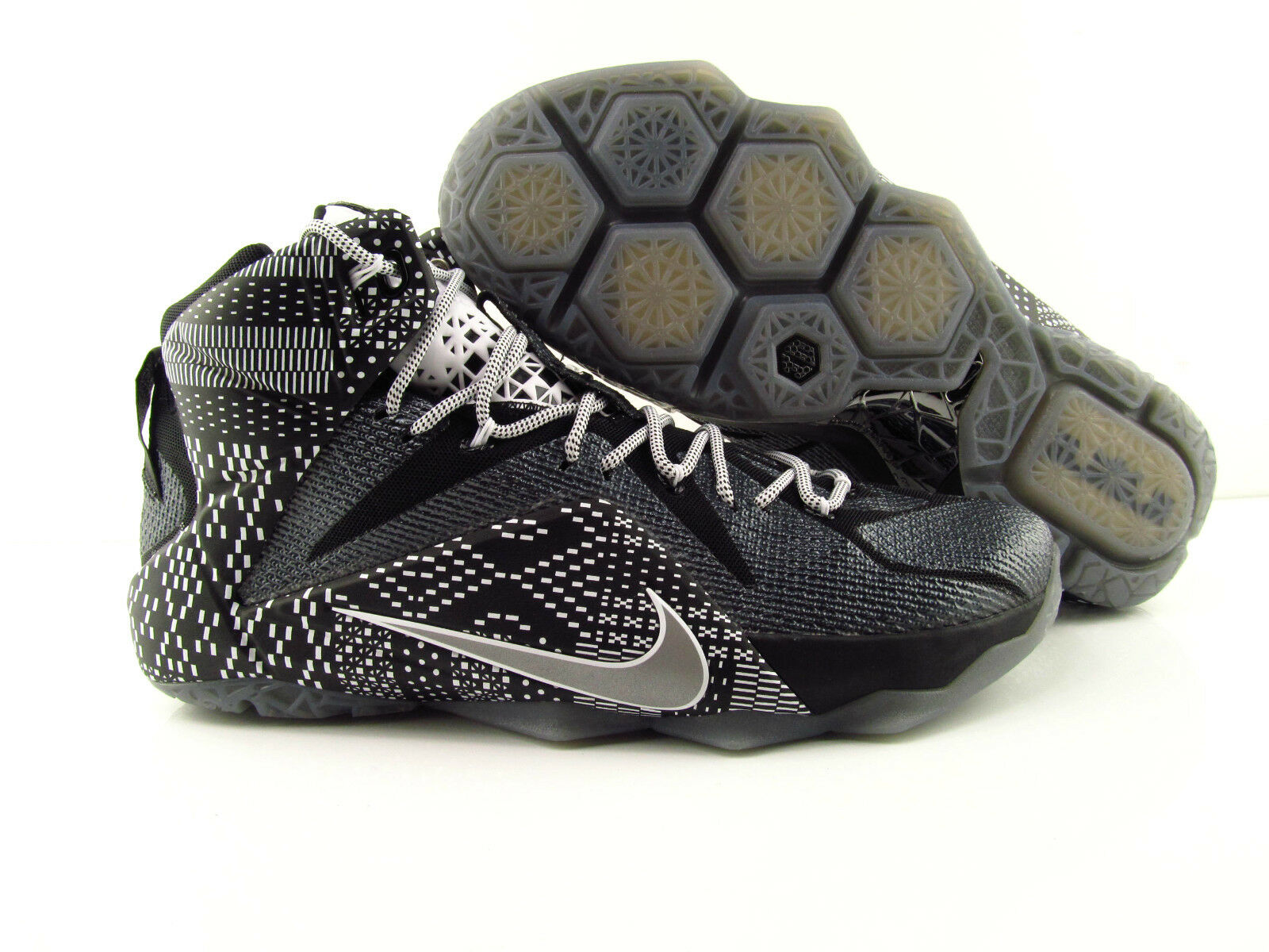 Nike Lebron XII 12 BHM   Black History Month  Basketballschuhe Eur_47.5-48.5