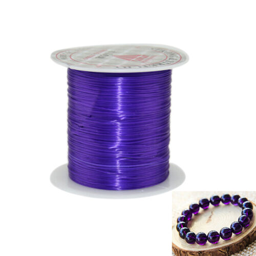 10M Strong Stretch Elastic Cord Wire rope Bracelet Necklace String Bead 0.5mm EC