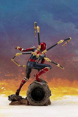 "7/"" Artfx Marvel Kotobukiya Avengers Infinity War Iron Spider Model Kit 1//10 NB"