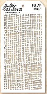 Tim-Holtz-Layering-Stencil-Template-Burlap-Hessian-Stencils