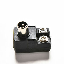 75 300ohm IEC TV PAL Male Adapter Connector Antenna Matching Transformer M&C