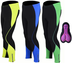 a23916fb4cd Image is loading Womens-Winter-Cool-Max-Padded-Cycling-Tights-Trousers-