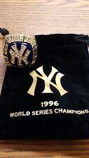 MLB NEW YORK YANKEES 1996 WORLD SERIES CHAMPIONSHIP REPLICA RING BRAND NEW W/BAG