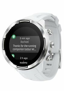 Suunto 9 BARO GPS Watch w/ Extended Battery Life Modes (White) SS050021000