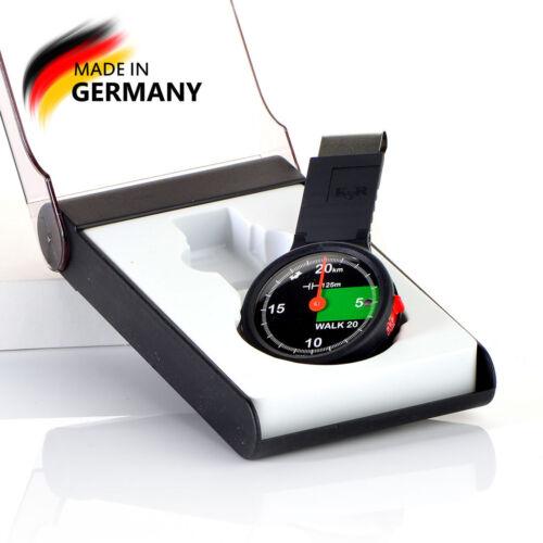 Made in Germany Mechanischer Präzisionsschrittzähler WALK 20