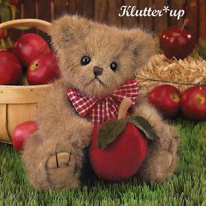 "Bearington Bear Doll DUMPLIN' #179910 10"" NEW FALL 2011 Apple Scented"