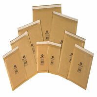 JL000 A/000 GOLD JIFFY PADDED ENVELOPES BAGS 10 20 50 100 150 200 500 1000 300