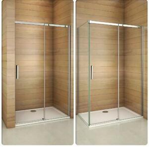 cabine de douche porte de douche coulissante de 195cm en. Black Bedroom Furniture Sets. Home Design Ideas