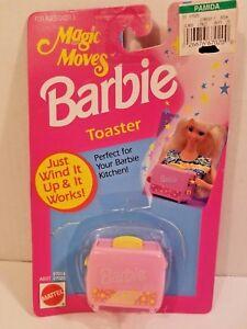 Vintage-Mattel-Barbie-Magic-Moves-Pink-Toaster-1993