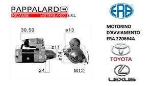 MOTORINO-D-039-AVVIAMENTO-ERA-220664A-TOYOTA-AVENSIS-STATION-WAGON-O-E-28100-0G040