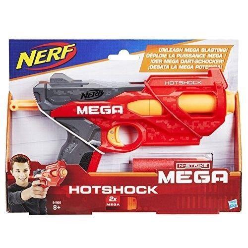 Brand New NERF N-Strike MEGA Elite HOTSHOCK Dart BLASTER ~ USA Version
