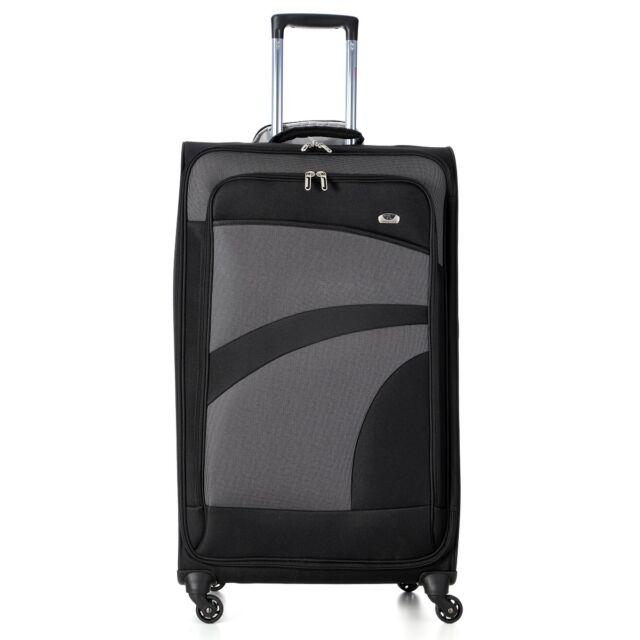 cb9b26341f15 Aerolite Premium Super Lightweight 4 Wheel Luggage Suitcase Cabin Medium  Large