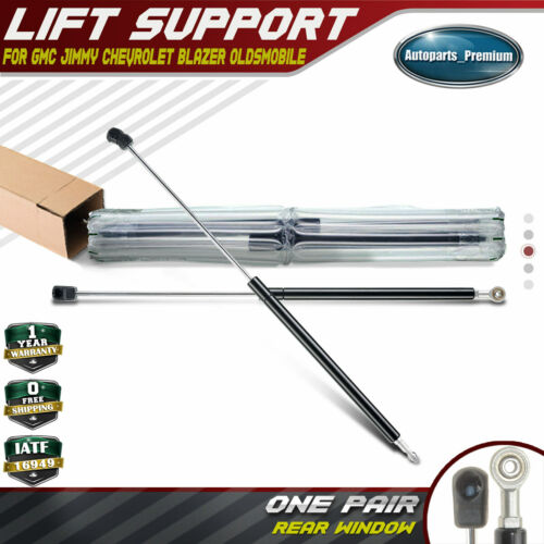 2x Rear Window Lift Supports Shocks for Chevrolet GMC Oldsmobile 1997-2005 4316