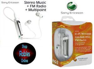 Sony-Ericsson-MW600-White-Hi-Fi-Bluetooth-Stereo-Headset-with-FM-Radio-NEU-OVP