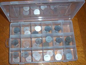 Details about 29mm Shim SHOP Kit w/case - 34 Valve Shims 2 30 - 3 10  Kawasaki - Yamaha - BMW