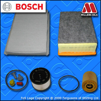 Kit d/'entretien pour peugeot 307 2.0 hdi 16V manuel huile air carburant habitacle filtre 04-07