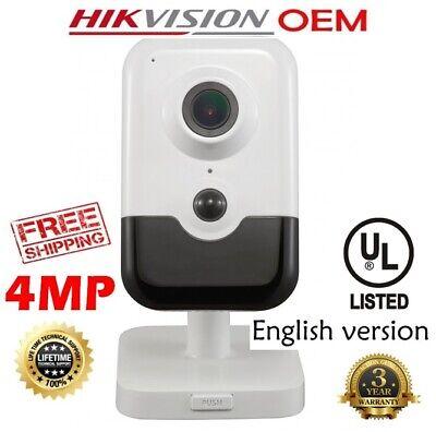NC324-TD-6 Hikvision DS-2CD2143G0-I 4MP POE IR Outdoor IP Camera 6MM LENS OEM