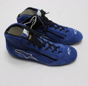 1587a00d0d13d Image is loading ALPINESTARS-SP-Racing-Shoes-FIA-8856-2000-Blue-