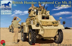 Bronco-1-35-35085-British-Humber-Armoured-Car-mk-II-Hot