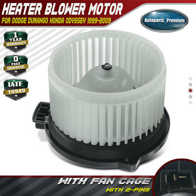 Heater Blower Motor w// Fan Cage for Acura MDX Honda Odyssey Accord Pilot PM3929
