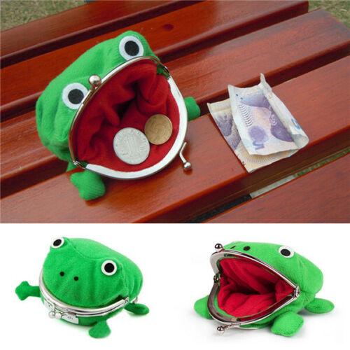 Kinshops Frog Coin Purse Naruto Wallet Anime Coin Purse Green Frog Wallet Jj11026