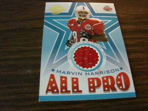 2005 Topps All Pro Pro Bowl Marvin Harrison Jersey Card (B9 ... a52fcafc8