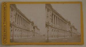 Ministero Da La Marina Parigi Francia Foto Stereo L44- Vintage Albumina c1870
