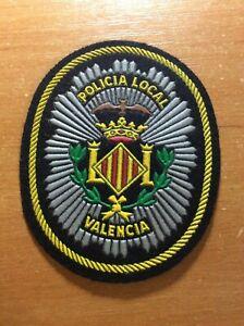 Espana-Valencia-Parche-Policia-Policia-Local-Original