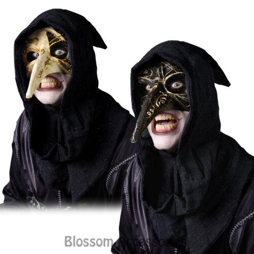 A315 Venetian Raven Mask Black Halloween Costume Accessory