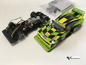 Carrera-Ford-Capri-Zakspeed-Turbo-J-Hamelmann-Team-No-4-ohne-Decoder-aus-30832