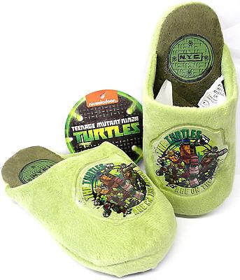 Childrens Nickelodeon Teenage Mutant Ninja Turtles Zapatillas De Interiores TN8240