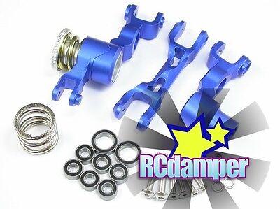 Aluminum Front Steering Rod Blue 2pcs For Traxxas X-Maxx 7076-4