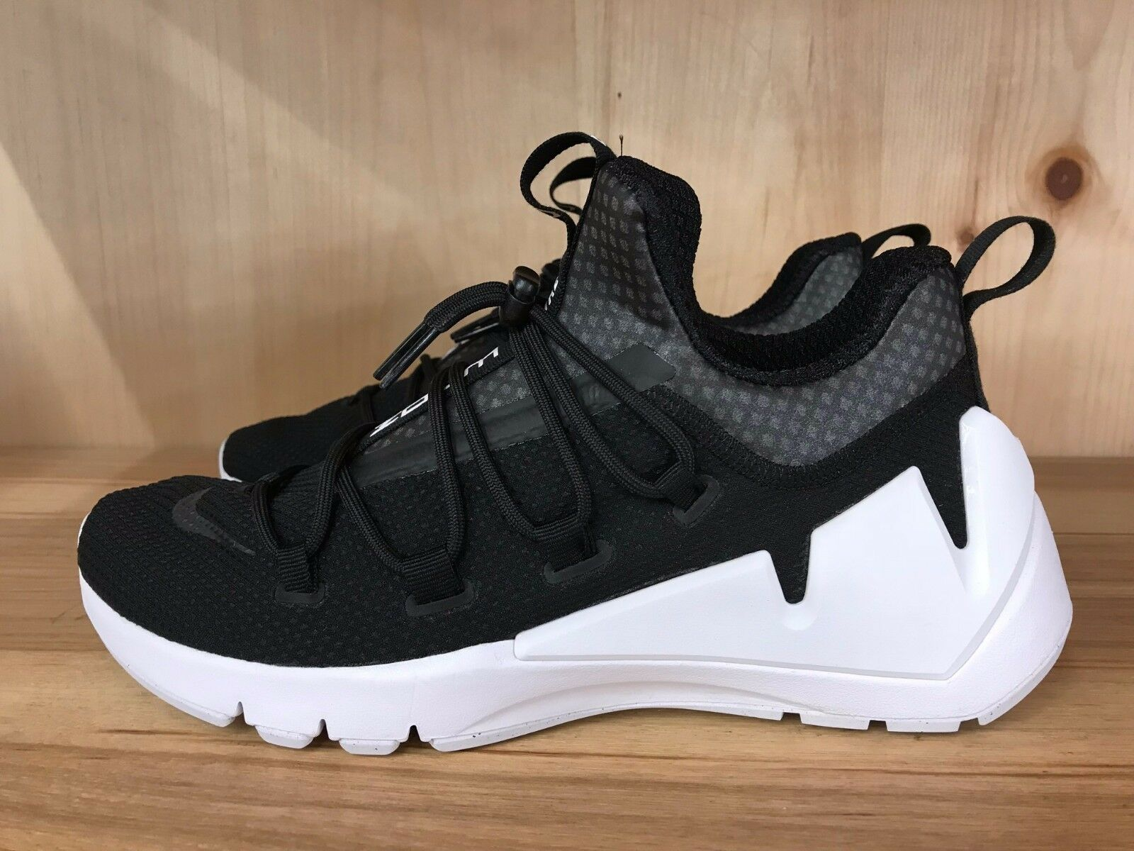 Nike air zoom elementare terra humara retro bianco nero 924465-001 gli 8 e i 13 uomini sz