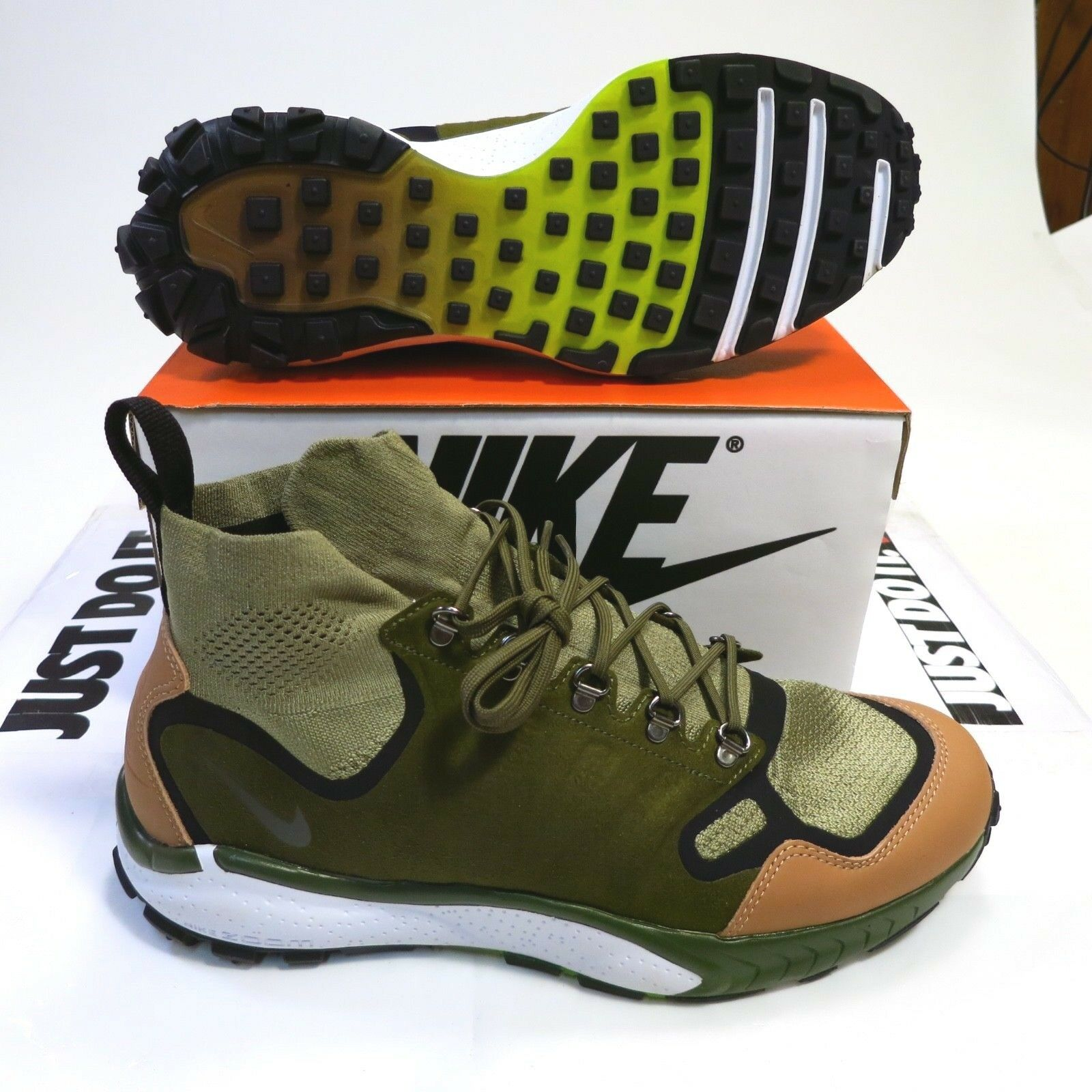225 Men's Nike Nike Nike Air Zoom Talaria Mid FK PRM Size 11.5 Style 875784 001 NEW 48fe8f
