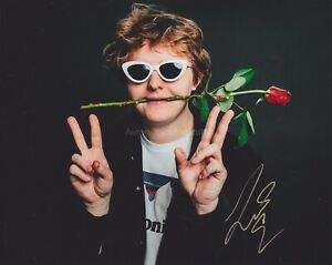 Lewis-Capaldi-HAND-SIGNED-8x10-Photo-Autograph-Divinely-Uninspired-To-A-Hellish