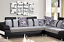 FAMILY QUOTE CANVAS WALL ART PICTURE BLACK WHITE GREY HOME LOVE PRINT 4 PANEL