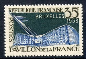 Stamp / Timbre France Neuf N° 1156 * Exposition De Bruxelles Neuf Charniere