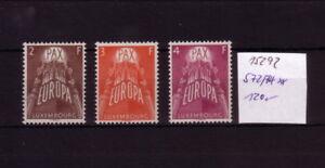 Cept-Luxemburg-572-74-Michel-120-K-15292
